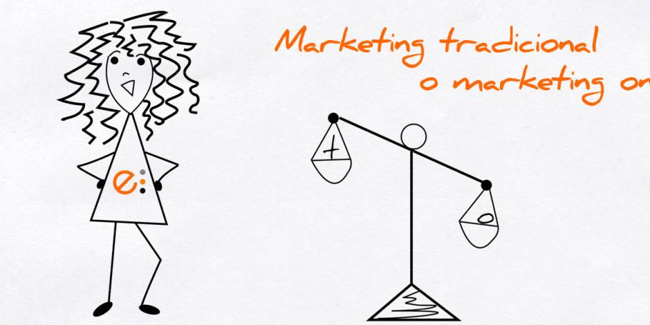 Marketing tradicional o en Internet