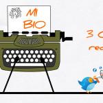 3 consejos para redactar tu Bio en Twitter